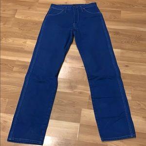 Wrangler western jeans blue size 30X34